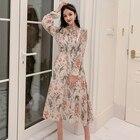 Autumn Chiffon Dress...