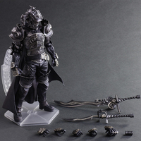 PA kai Final model Fantasy XII Rpg game Judge Gabranth action figures play arts 25CM model toy collection FOR gifts