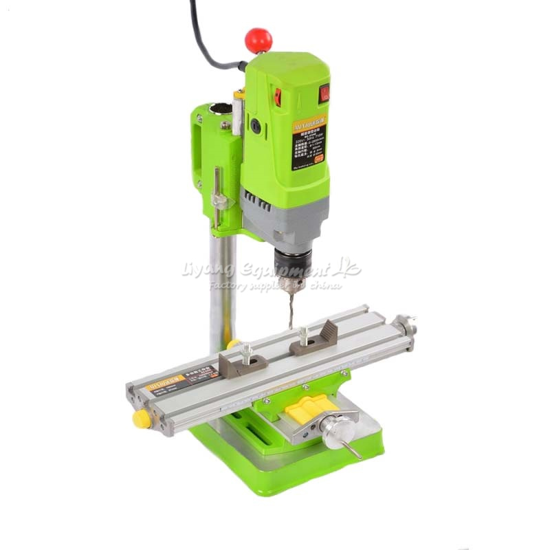 Mini Bench Drill Power Electric Drill For Easy Milling Machine 220V 710W 13mm Drill Chuck DIY Jewelry Drill Machines LY 5156E