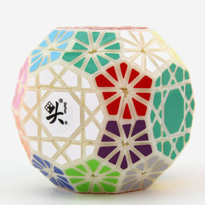 Image 3 - DaYan Gem VI Magic Cube Skewed/Skewbed Professional Speed Twist Puzzle Antistress Educational Toys For Children