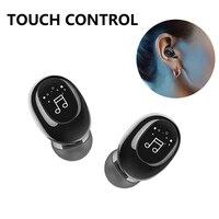 2021 Bluetooth Kopfhörer Freihändiger Stereo Headset TWS Ohrhörer Mit Mikrofon Unsichtbare Ture Wireless Kopfhörer Noise Cancelling