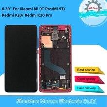 """6.39 """"Gốc M & Sen Cho Xiaomi Mi 9 T Pro Mi9T Mi9 T Pro/Redmi K20 K20 pro AMOLED Màn Hình LCD Khung + Bảng Điều Khiển Cảm Ứng Digitizier"""