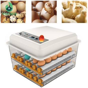 120 Eggs Incubator Brooder Quail Bird Incubator Chick Hatchery Poultry Tool Hatcher Turner Automatic Farm Incubation Tools 1