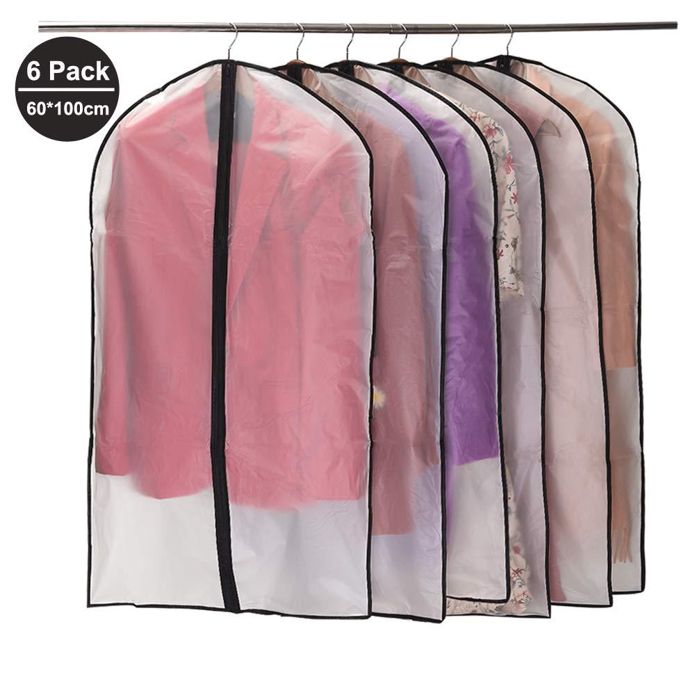 Clothing Dress Garment Suit Coat Dust Cover Protector Wardrobe Storage Bags GA