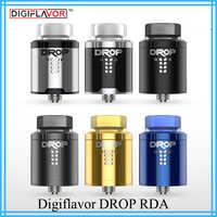 Original Digiflavor Drop RDA BF squonk 510 pin 24mm electronic cigarette tank large post-holes Stepped airflow design VS zeus x