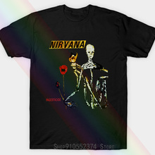 T-Shirt Nirvana White 1994 Insecticide Special All-Usa Unisex