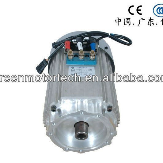 20KW AC Synchronous Motor For High Speed Electric Car