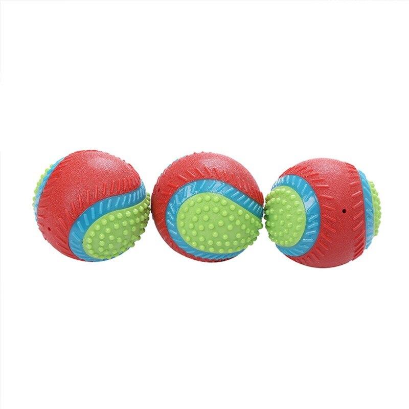 Rindfleisch Geschmack Für Hund Zu Release Stress Interaktive Gummi Ball Spielzeug Pet Quietschende Kauen Spielzeug Pet Liefert - 3