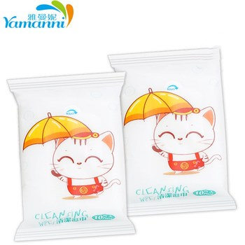 100PS/10packs Mini Portable Face Care Cotton Towel Baby Adult Disposable Cleaning Tissue Wet Wipes For Outdoor Travel Health 100 pcs soft dry cotton wipes maternity baby tissue safe hygiene sensitive skin cleaning towel portable
