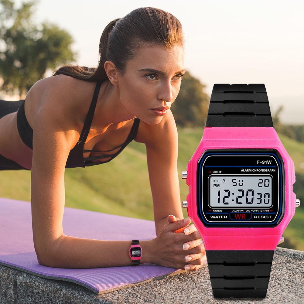 Luminous Electronic Watch Beautiful Sport For Men 2021