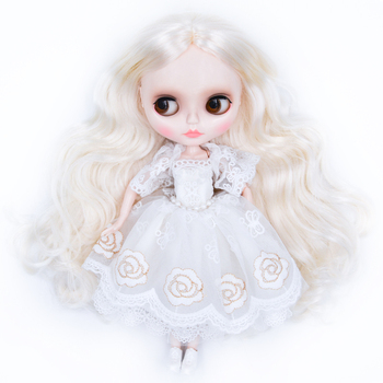 Neo Blyth Doll NBL Customized Shiny Face,1/6 BJD Ball Jointed Doll Ob24 Doll Blyth for Girl, Toys for Children YM24 [wamami] for 12 neo blyth doll 7 joints purple short wig matte face