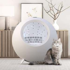 Hair-Dryer Pet-Drying-Box Oven Ozone Shower Automatic Cat Dog 54L Disinfection App-Control
