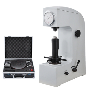 HR 150A Manual Hardness Tester Double Handle Desktop Metal Hardness Tester Hardness Testing Instrument With Diamond Indenter Hardness Testers     -