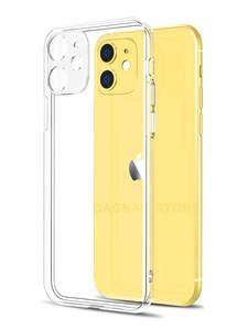 Защитный прозрачный чехол для iPhone 11 7, силиконовый мягкий чехол для iPhone 11 Pro XS Max X 8 7 6s Plus 5 SE 11 XR