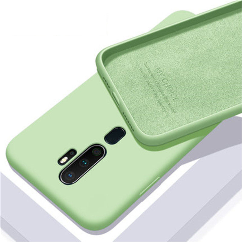 For <font><b>OPPO</b></font> A9 2020 <font><b>Liquid</b></font> Silicone Protective <font><b>Cover</b></font> For Realme 5 pro 3 X Lite XT X2 F5 F9 F11 K3 A79 A83 A3 S A7 A5 Anti-fall <font><b>Case</b></font> image