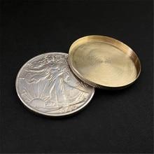 Expanded Shell Walking Liberty Half Dollar (head) Magic Tricks Close Up Magia Coin Appear/Vanish Magia Illusions Gimmick Props