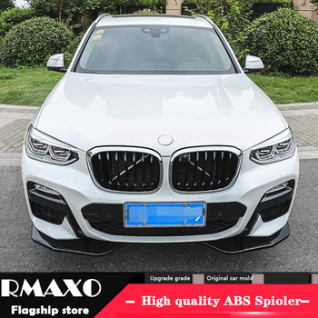 For BMW X3 Body kit spoiler 2019-2020 For BMW X3 G01 FRONT ABS Rear lip rear spoiler front Bumper Diffuser Bumpers Protector image