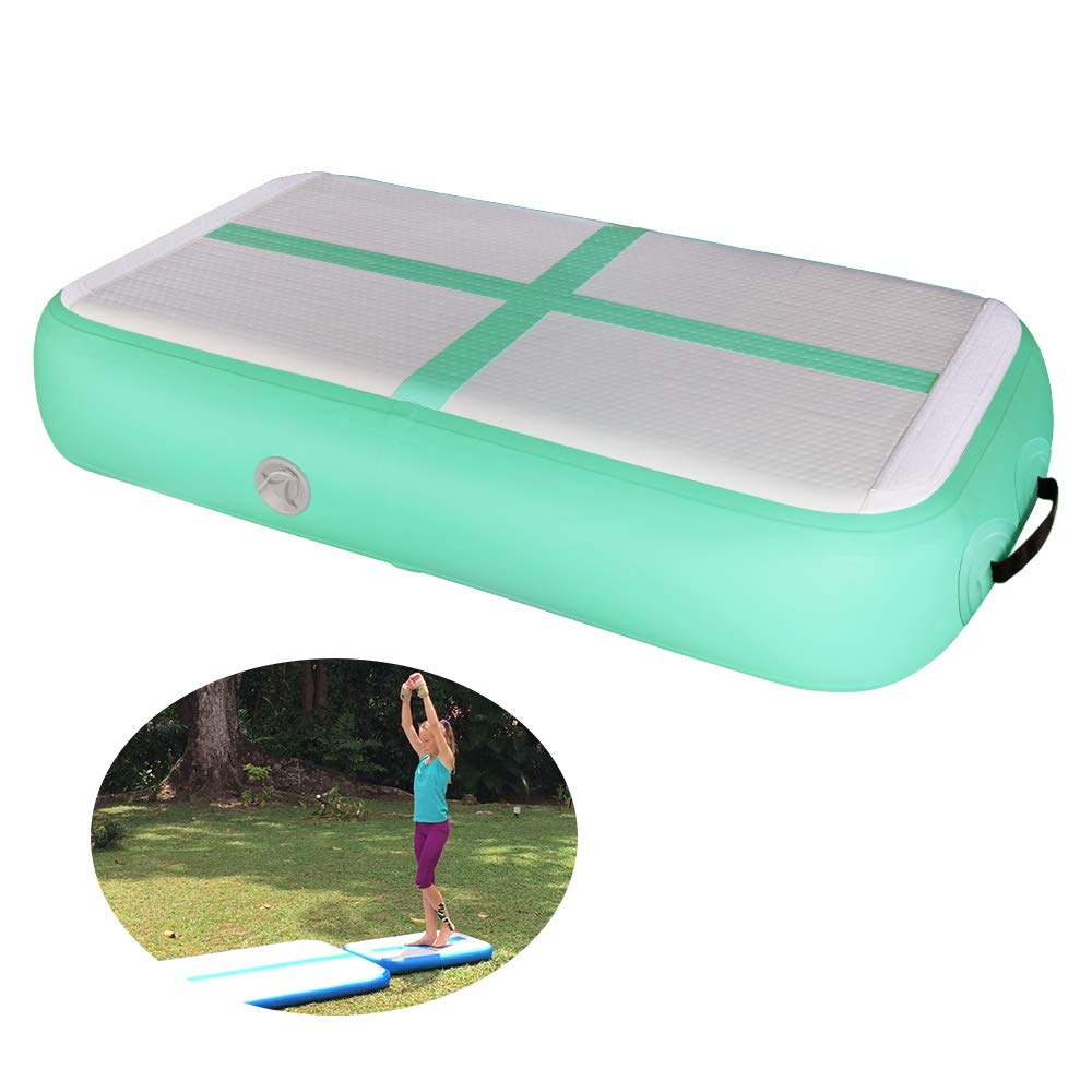 Gymnastics Air track Air Block and Air Board Inflatable Tumble Track Assisting for Gymnastic Training Free