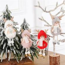 Новинка, рождественский подарок, Рождественская елка, подвесная подвеска, ангел, кукла, подвеска, украшение для домашнего стола