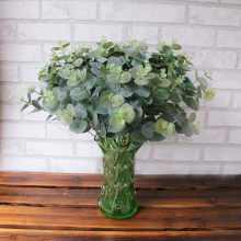 Kunstmatige Fake Leaf Eucalyptus Laat Simulatie Bladeren Wedding Party Home Decor Feestelijke Feestartikelen(China)