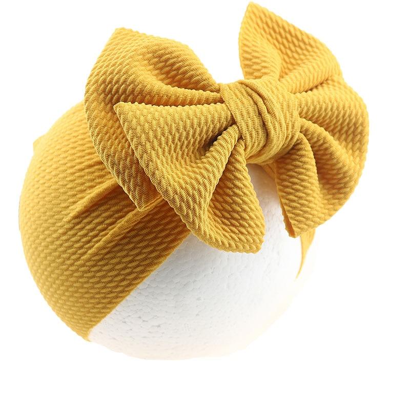 Hair Accessories Large Bow Knot Baby Headband For Girl Hairbands Turban Knot Kids Turban Baby Headwraps Faixa Cabelo Para Bebe
