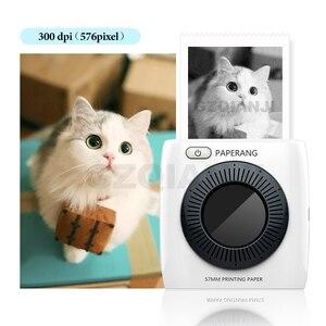Image 1 - Tasca Mini Stampante Fotografica Portatile Stampante Termica Bluetooth Etichetta Adesiva Macchina per il Mobile Android iOS Finestre PAPERANG P2