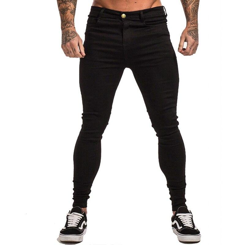 New Style Men Basic Men's Men's, Black Tight Slim Fit Jeans K035