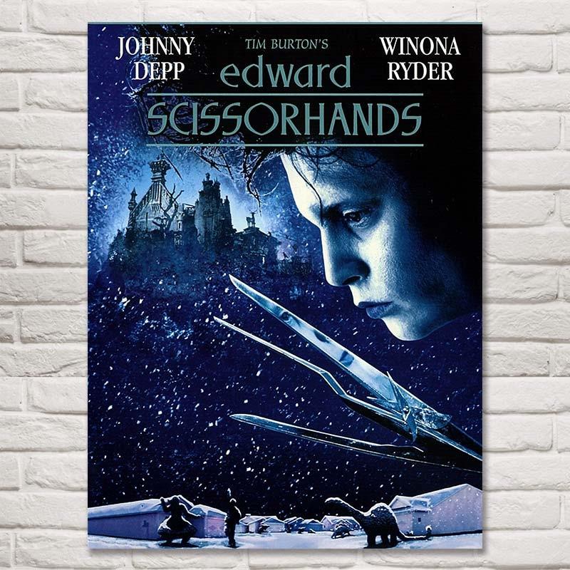 FOOCAME Filmi Tim Burton Edward Scissorhands Klasična dekoracija za - Dekor za dom - Fotografija 2