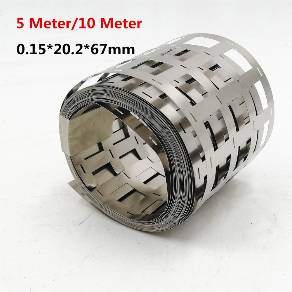 Spot Welding Machine 99.96% Pure Nickel Strip 0.15*20.2*67mm 4P Nickel Belt Lithium Battery Nickel Strip For 18650 Spot Welder