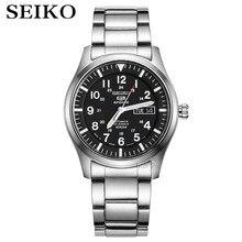 Seiko שעון גברים 5 אוטומטי שעון יוקרה מותג עמיד למים ספורט שעון יד תאריך mens שעונים צלילה שעון relogio masculin SNZG