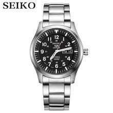 Seiko Reloj Automático para hombre, cronógrafo de pulsera deportivo, resistente al agua, con fecha, masculino