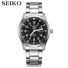 Часы seiko мужские с 5 автоматическими часами, брендовые водонепроницаемые спортивные наручные, с датой, для дайвинга, SNZG