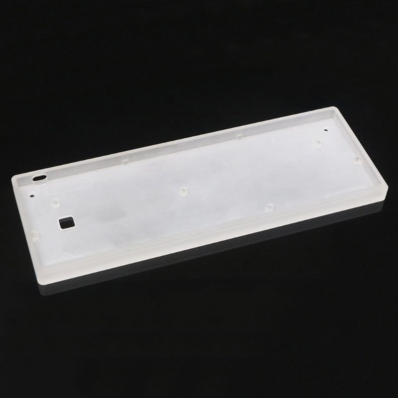 Frosted Acrylic Case Shell PCB Plate For GH60 DZ60 Poker2 60% Mini Keyboard
