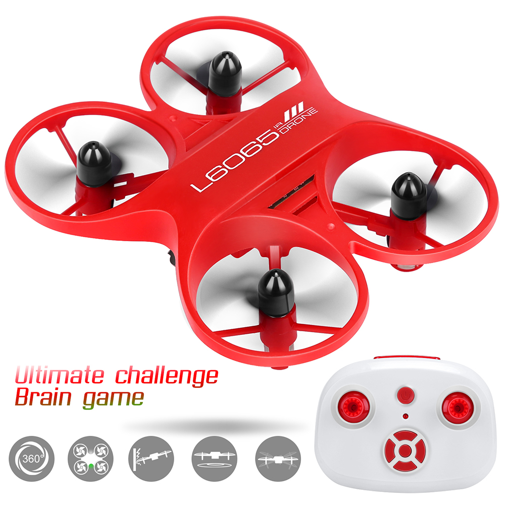 Mini Camera Drone RC Quadcopter With FPV Camera HD Drones 6 Remote Control Mini Dron Headless Mode Helicopter For Children Toys