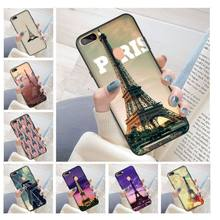 France Paris the Eiffel Tower DIY Printing Drawing Phone Case cover Shell for oppo r11 r11s plus r15 r17 r17pro case(China)