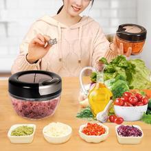 Ручной измельчитель для овощей, фруктов, измельчитель, измельчитель для чеснока, кухонный измельчитель, измельчитель для фруктов, дробилка для мяса, кухонные принадлежности