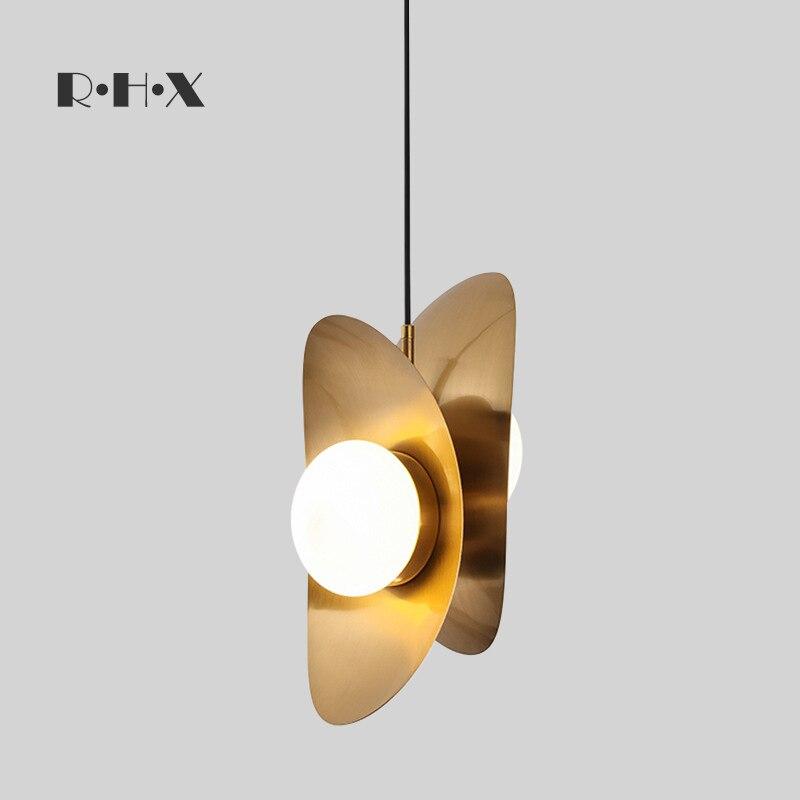 Nordic Pendant Lights Lampen Industrieel Wood Bedroom LED  Pendant Lights Lustre Pendente