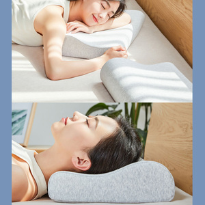 Image 5 - Xiaomi Mijia Antibacterial Neck Protection Pillow Neck Pain Memory Cotton Pillow Breathable for Sleeping Relaxation Pillows