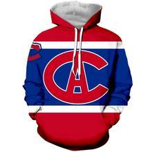 LBG 2019  new 3D printing Montreal Canada Sweatshirt men and women fashion hoodie Harajuku mens sports