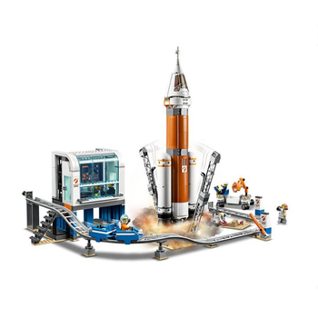 New City Space Series 60228 Rocket Control Center 60227 60226 Building Block Bricks Toys For Children Gift Boy Toy