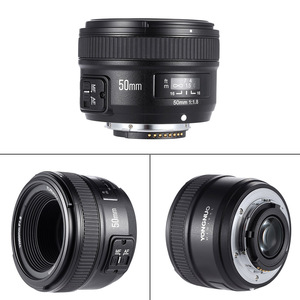 Image 2 - YONGNUO YN50mm F1.8 Grande Apertura Obiettivo AF Per Canon Nikon D800 D300 D700 D3200 D3300 D5100 D5200 D5300 DSLR Della Macchina Fotografica obiettivo di 50mm
