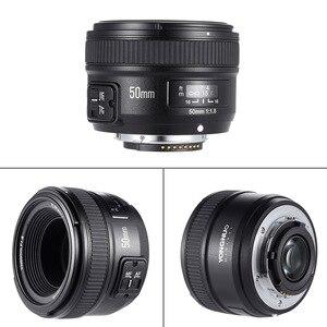 Image 2 - YONGNUO YN50mm F1.8 objectif AF à grande ouverture pour Canon Nikon D800 D300 D700 D3200 D3300 D5100 D5200 D5300 objectif dappareil photo reflex numérique 50mm