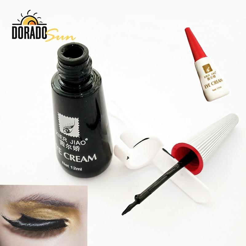 Doradosun Grafting False Eyelash Glue Black Quick Dry Lash Glue Makeup