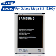 Original Samsung Battery B700BC B700BE For Samsung Galaxy I9200 Galaxy Mega 6.3 Authentic Battery 3200mAh