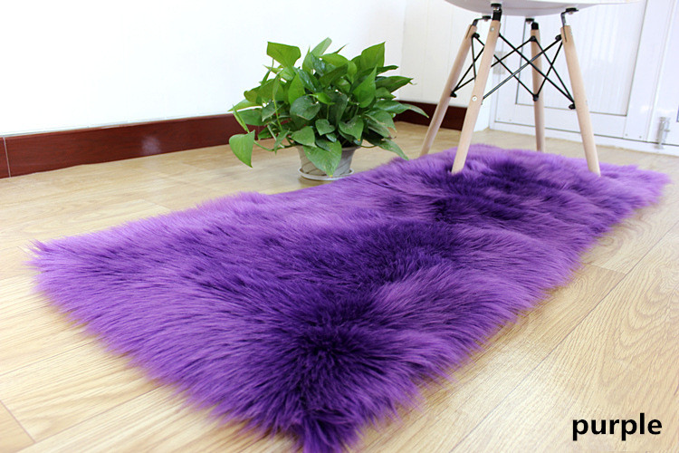 1 nordic hairy entrance hall child`s rug (3)