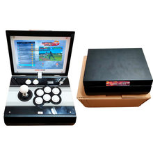 Pandora Treasure 3D 2448 in 1 10 Inch LCD Video Game Console Includes 160 games of 3D Installed Recalbox Mini Arcade Machine(China)