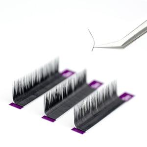 Image 4 - NAGARAKU N תלתל L תלתל 7 ~ 15mm לערבב פו מינק ריסים בודדים רך טבעי ריסים ריסים ריסי ריס הארכת