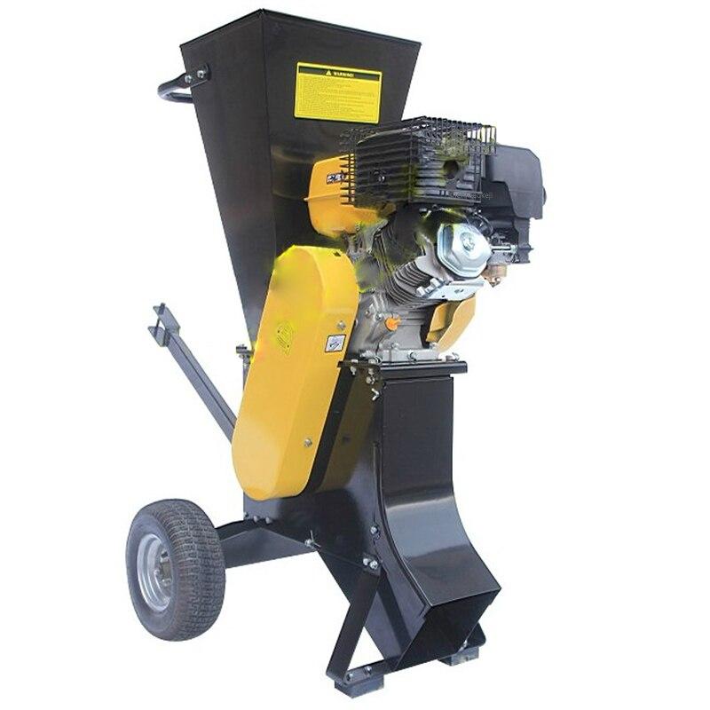 5000RPM Rotating Speed Professional Gas Wood Shredder Garden Leaf Crusher / Branch Shredding Machine For Gardener/forest Guarder