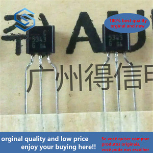 50pcs 100% orginal new 2SC5343 C5343 A1980 TO-92 NPN Silicon Transistor (General small signal amplifier) real photo