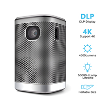 Movie Projector HIFI Home Theater Mini Video Wireless DLP Speaker for 4500lumens Touchpad